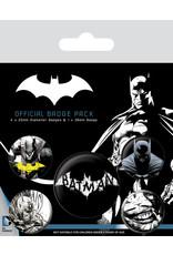 Pyramid International BATMAN 5-Pack Badges - Dark