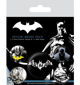 Pyramid International BATMAN 5-Pack Badges - Dark