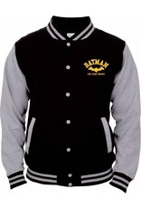 BATMAN  Jacket Teddy Yellow Logo (M)