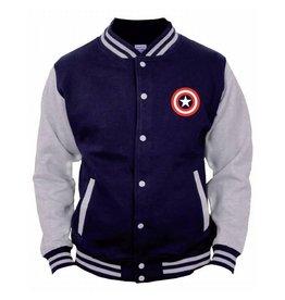 CAPTAIN AMERICA - Jacket Teddy Logo (S)
