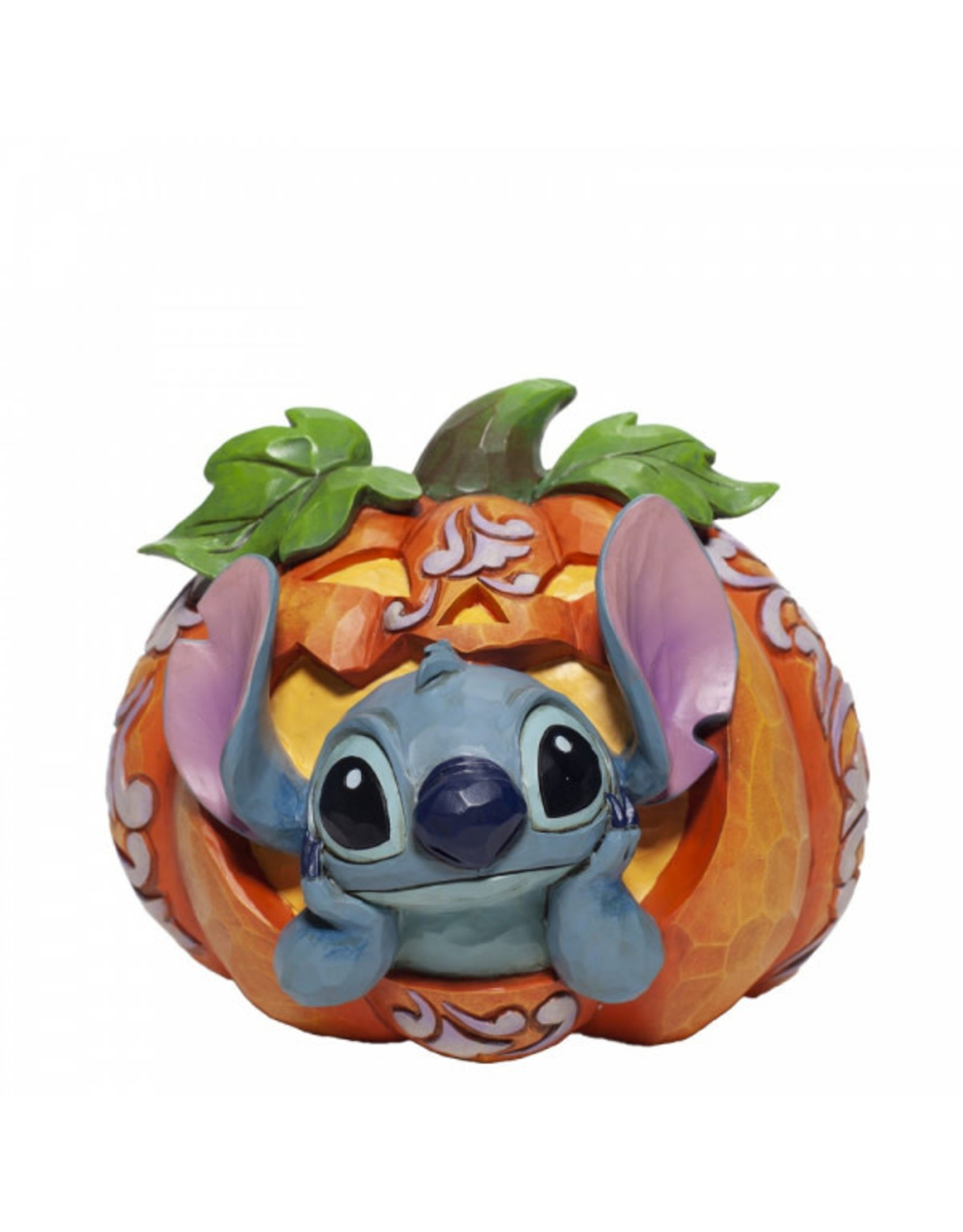Disney LILO & STITCH Traditions Figure 13x6x14cm - Stitch O' Lantern