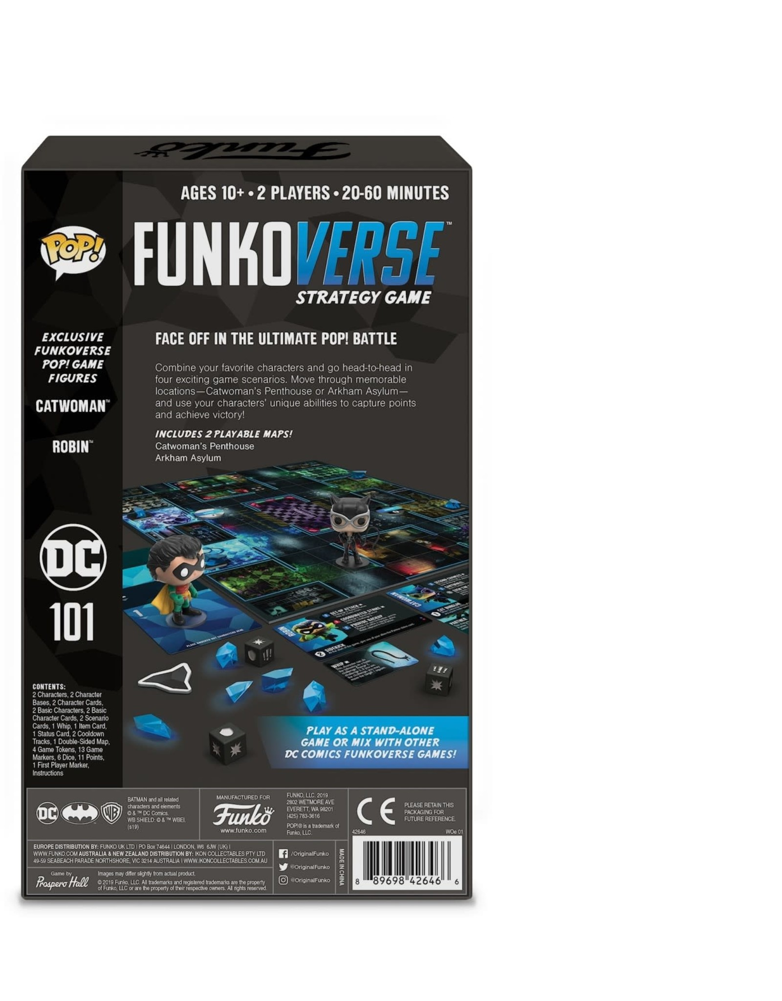 Funko DC COMICS Funkoverse - Expandalone (UK)