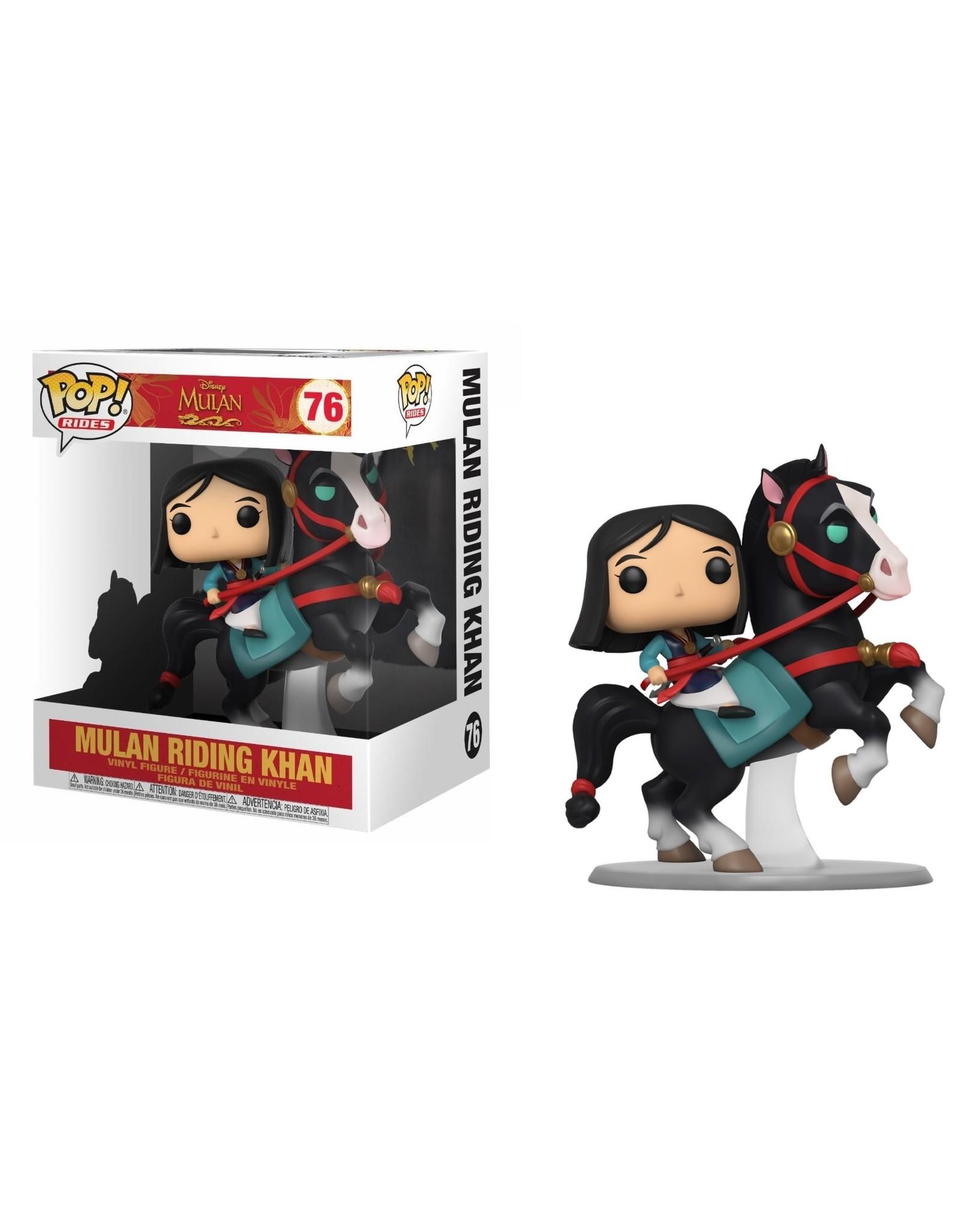 Funko MULAN POP! Rides N° 76 - Mulan on Khan
