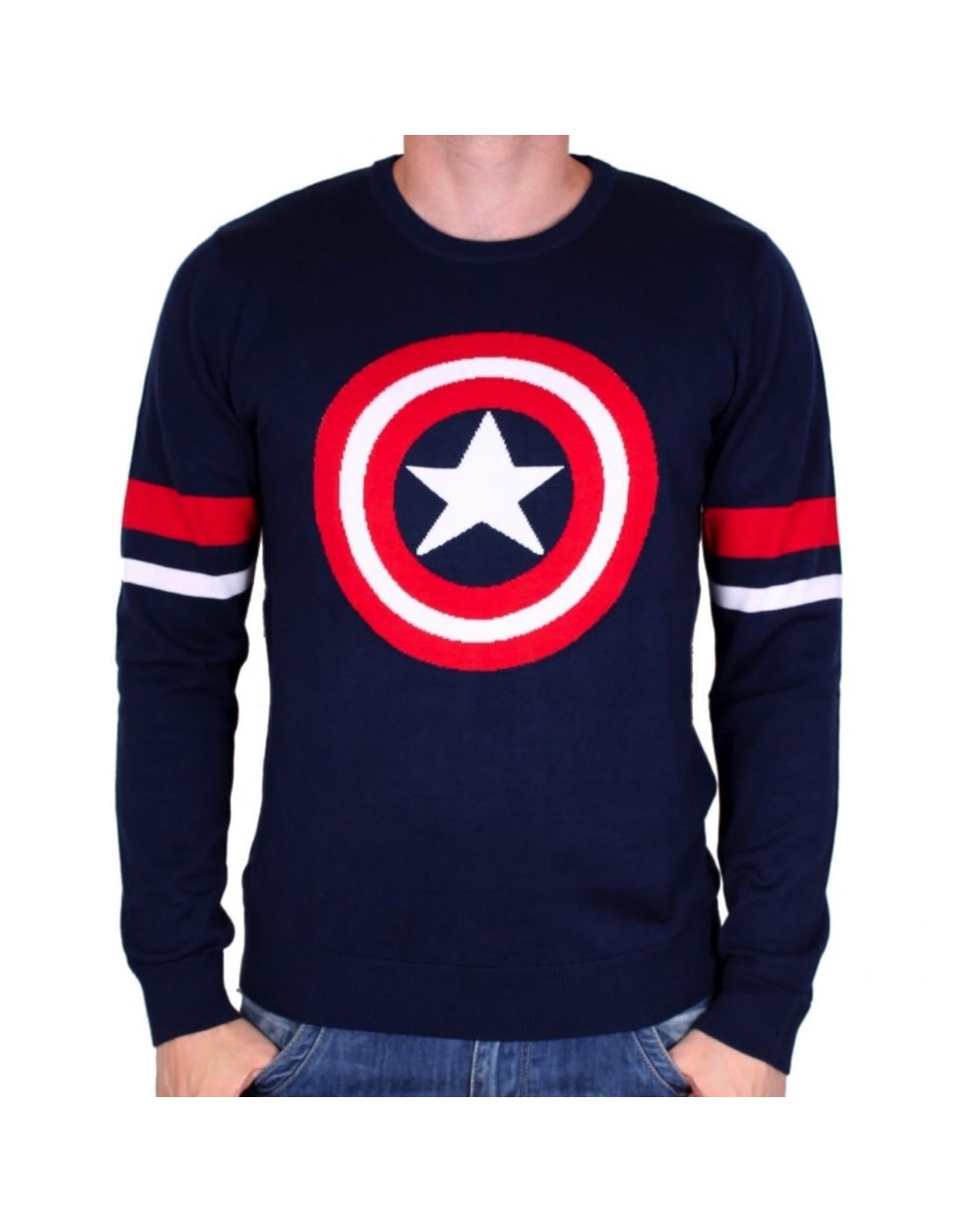 MARVEL - Pull Over - Captain America Logo (XL)