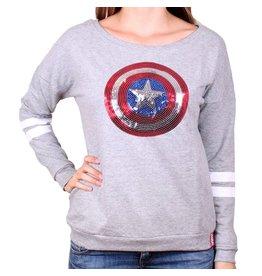 MARVEL - Pull Over GIRLS - Captain America (M)