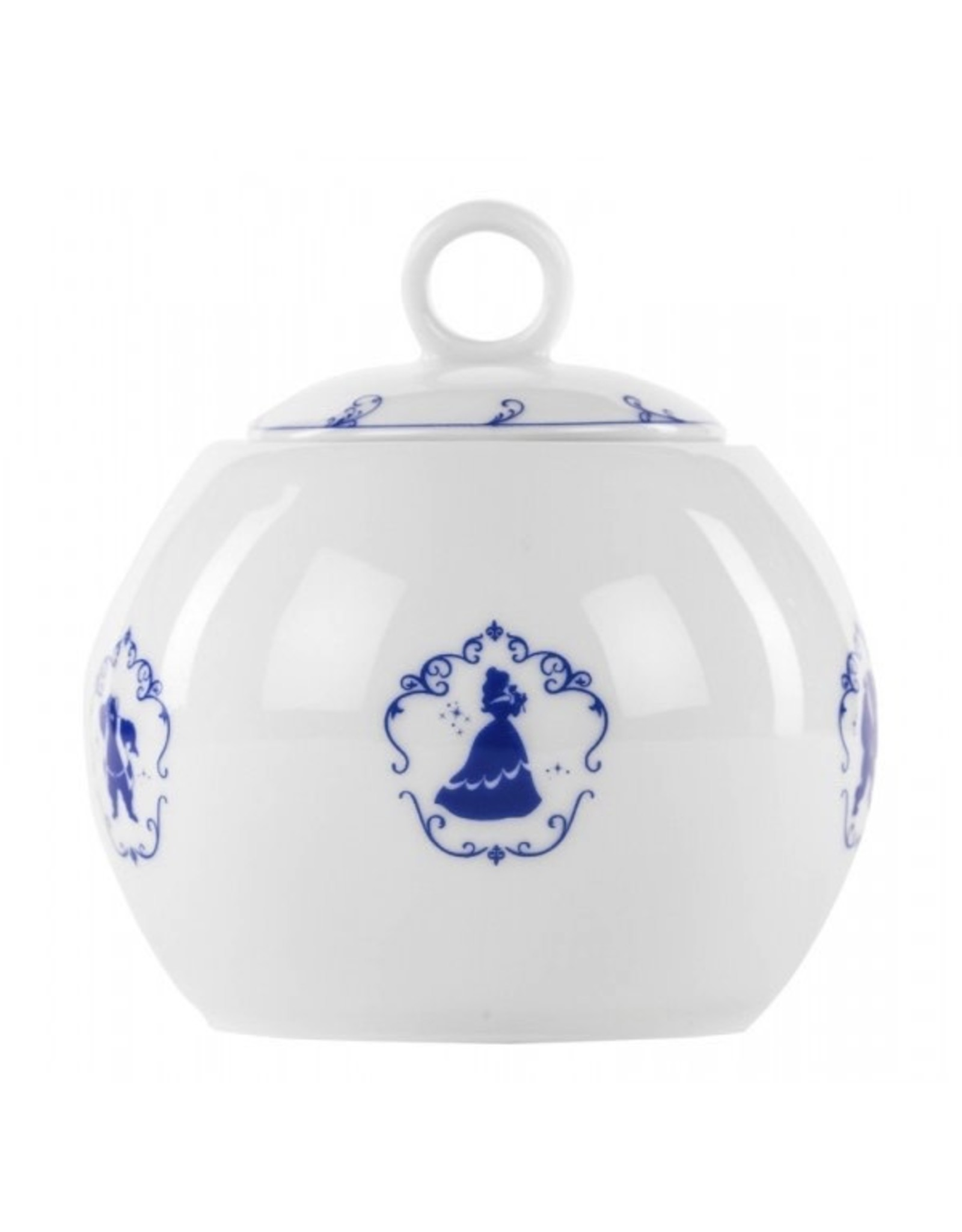 BEAUTY AND THE BEAST Suger Bowl Porcelain