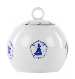 BEAUTY AND THE BEAST Sugar Bowl Porcelain