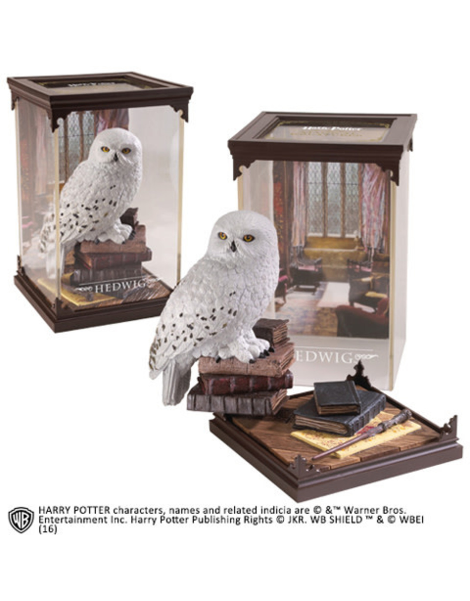 Noble Collection HARRY POTTER Magical Creatures Statue 01 - Hedwig