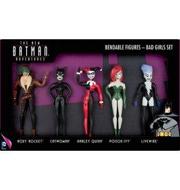 BATMAN Bendable Figures Set 5 Pces - Bad Girls