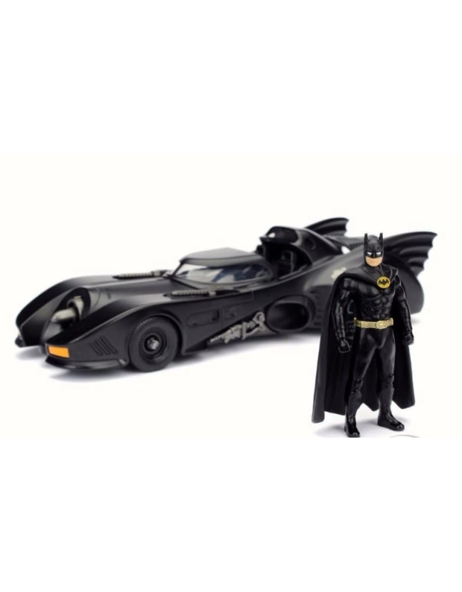 Jada Toys BATMAN Scale Model 1:24 - 1989 Batmobile