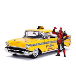 DEADPOOL - METAL Die Cast - Yellow Taxi with Deadpool