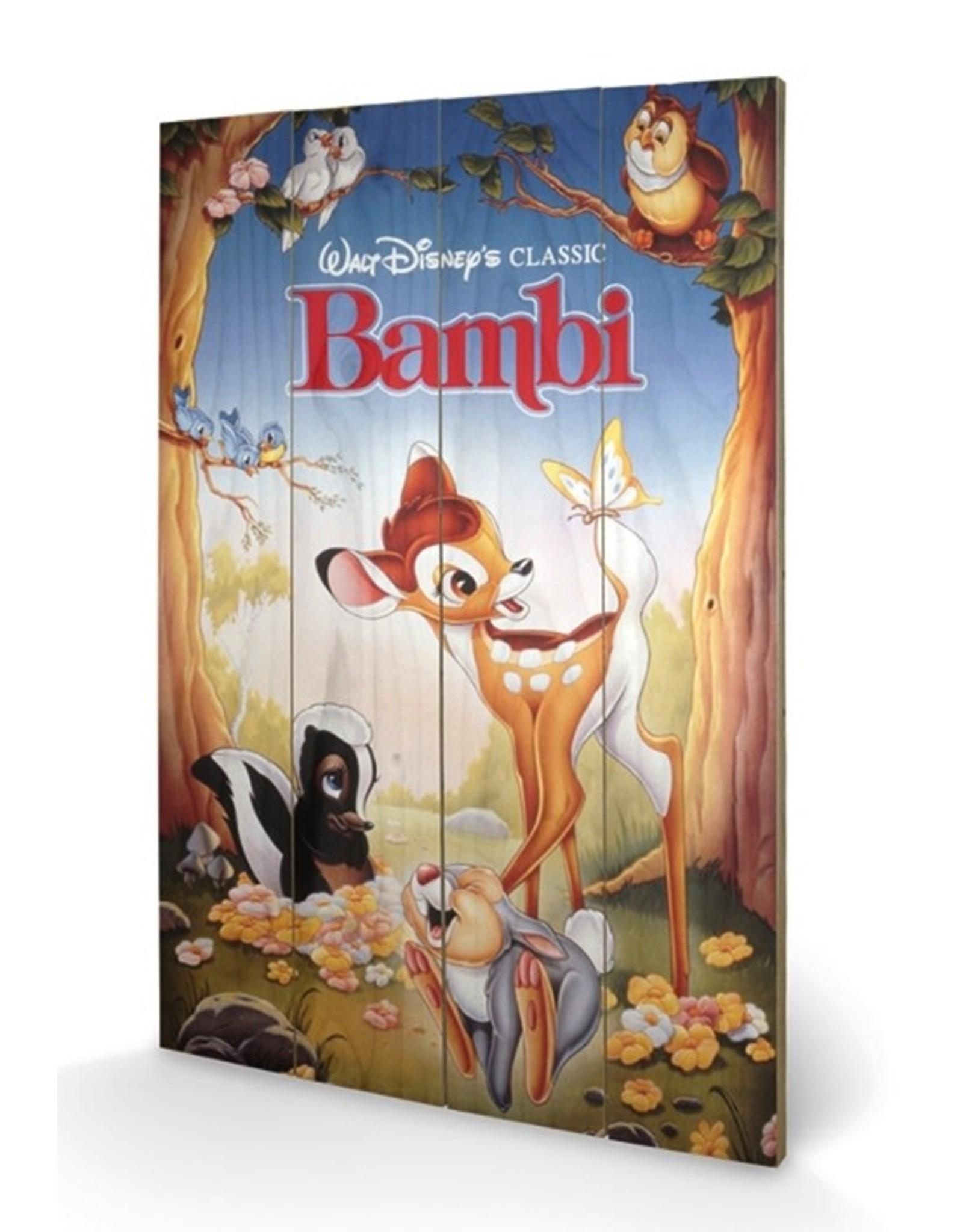 DISNEY - Printing on wood 40X59 - Bambi