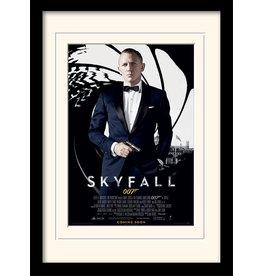 JAMES BOND - Mounted & Framed 30X40 Print - Skyfall