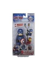 MARVEL - GIFT Set Body Knocker Scalers Hubsnaps - Captain America