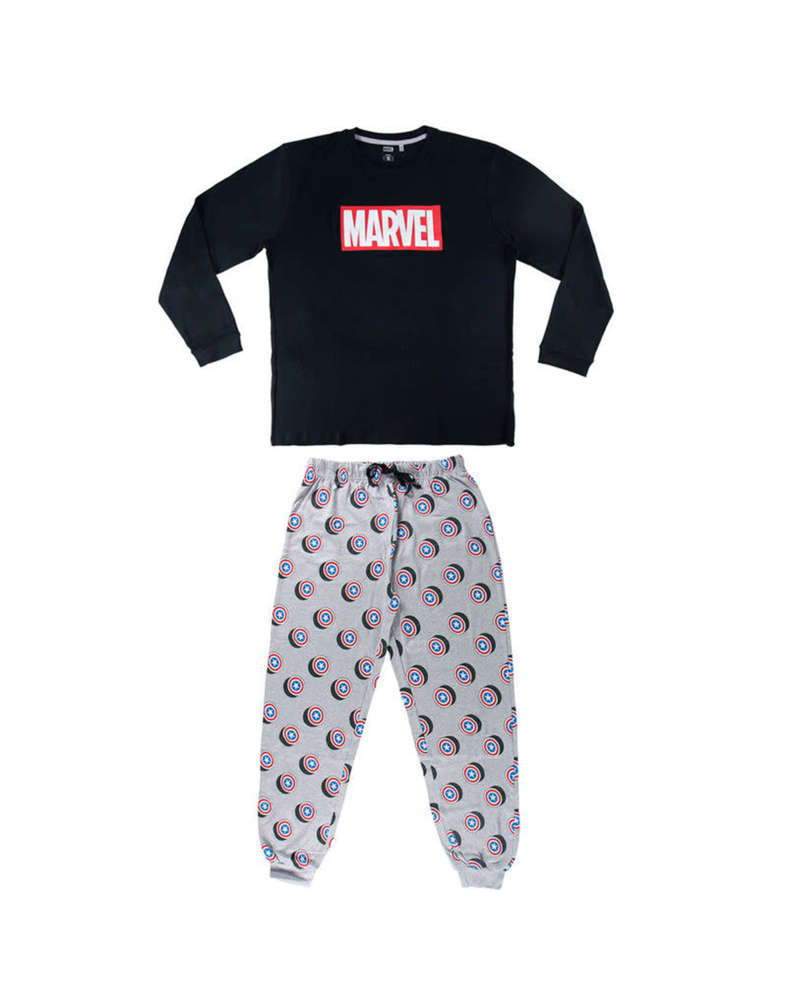 MARVEL - Long Interlock Pajamas - Avengers - L