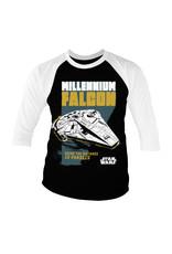 STAR WARS - Baseball 3/4 Sleeve T-Shirt - Millennium Falcon (L)
