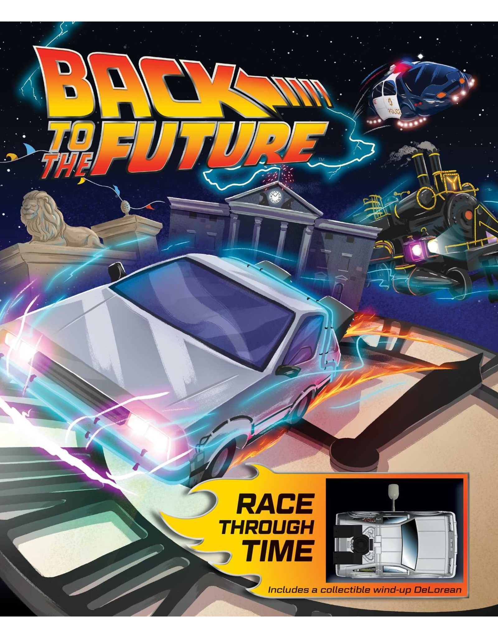 Insight Editions BACK TO THE FUTURE Art Book Race Through Time