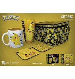 POKEMON Gift Box Pint, mug & 2 coasters - Pikachu