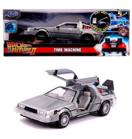 Jada Toys BACK TO THE FUTURE 1:24 Scale Model -Time Machine
