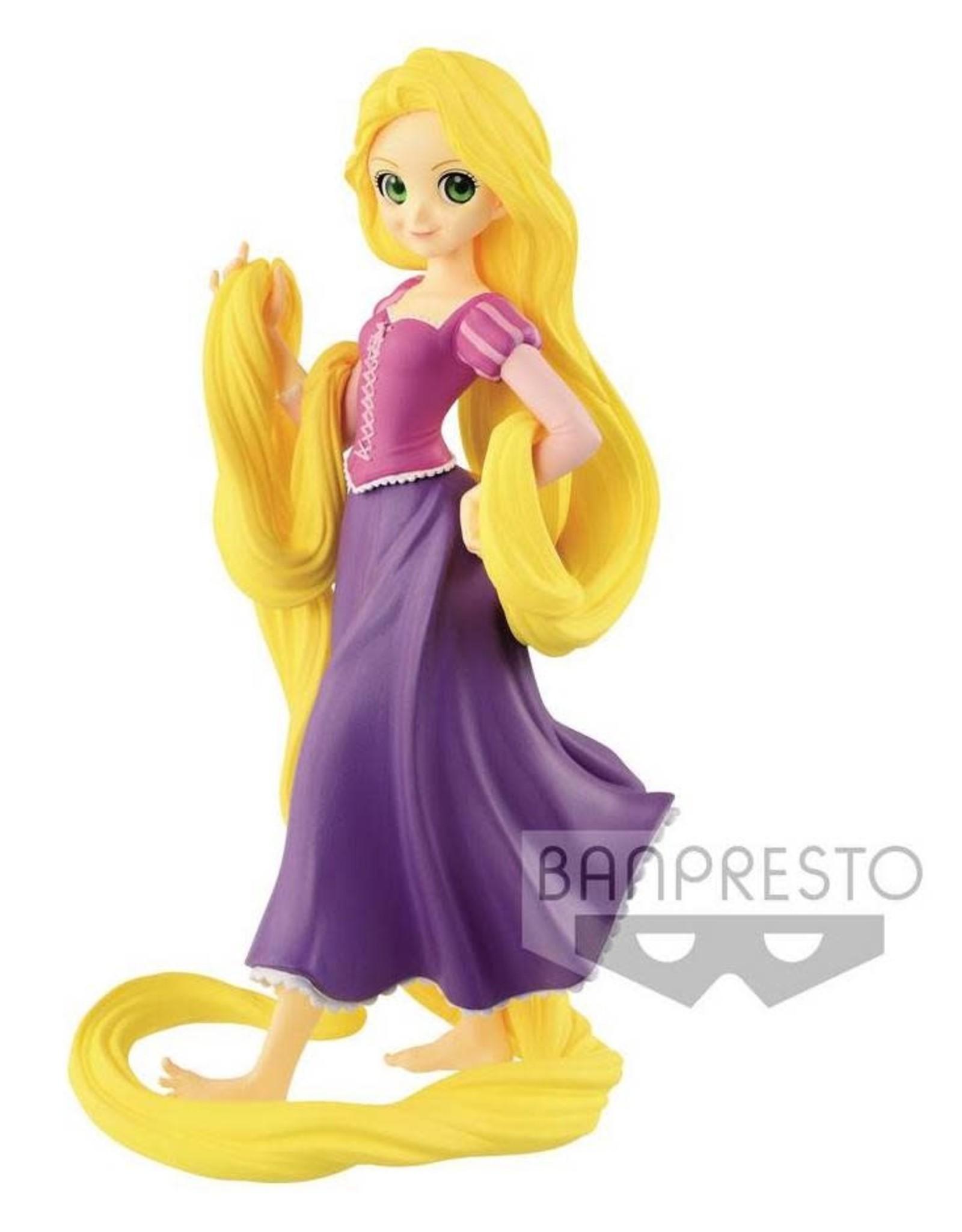 DISNEY - Crystalux Characters - Rapunzel - 16cm