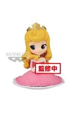 Banpresto SLEEPING BEAUTY Q Posket SUGIRLY 9cm - Princess Aurora Normal Color Ver
