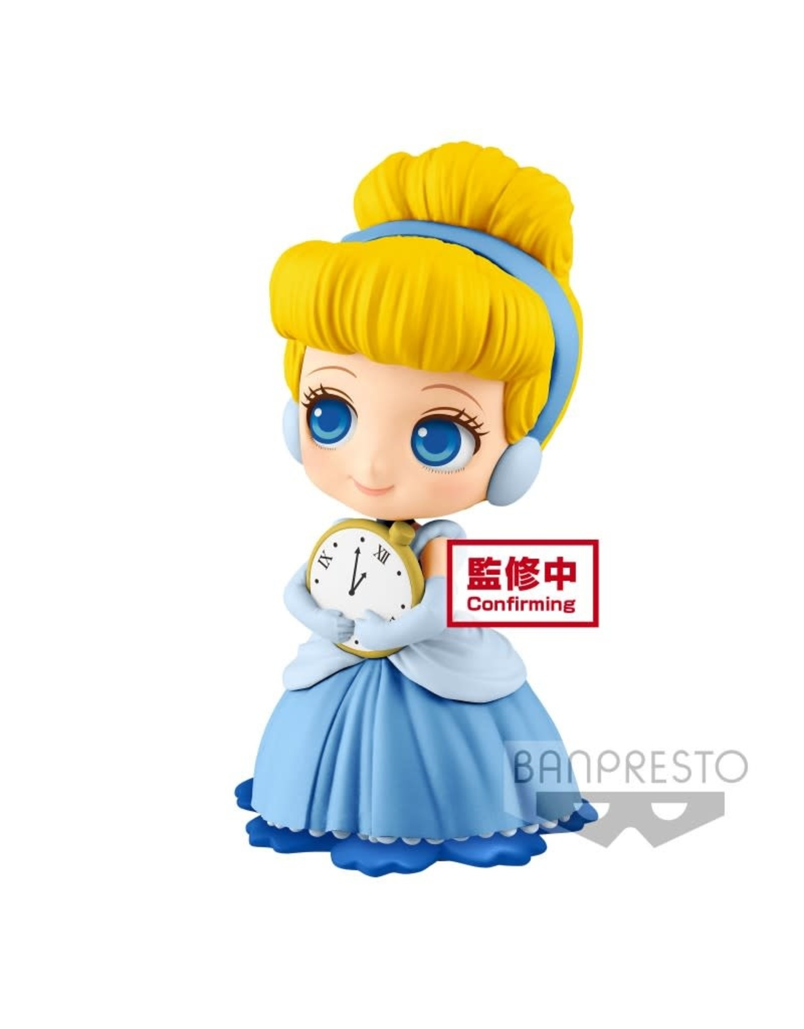 DISNEY - Q Posket SWEETINY Cinderella Vers. A - 10cm