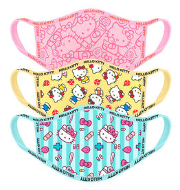 Difuzed HELLO KITTY Adult Face Mask 3-Pack