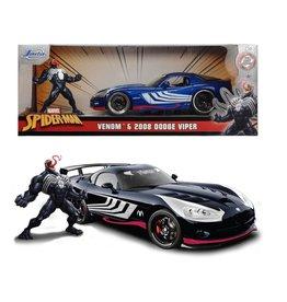MARVEL Venom 2008 Dodge Viper - 1:24