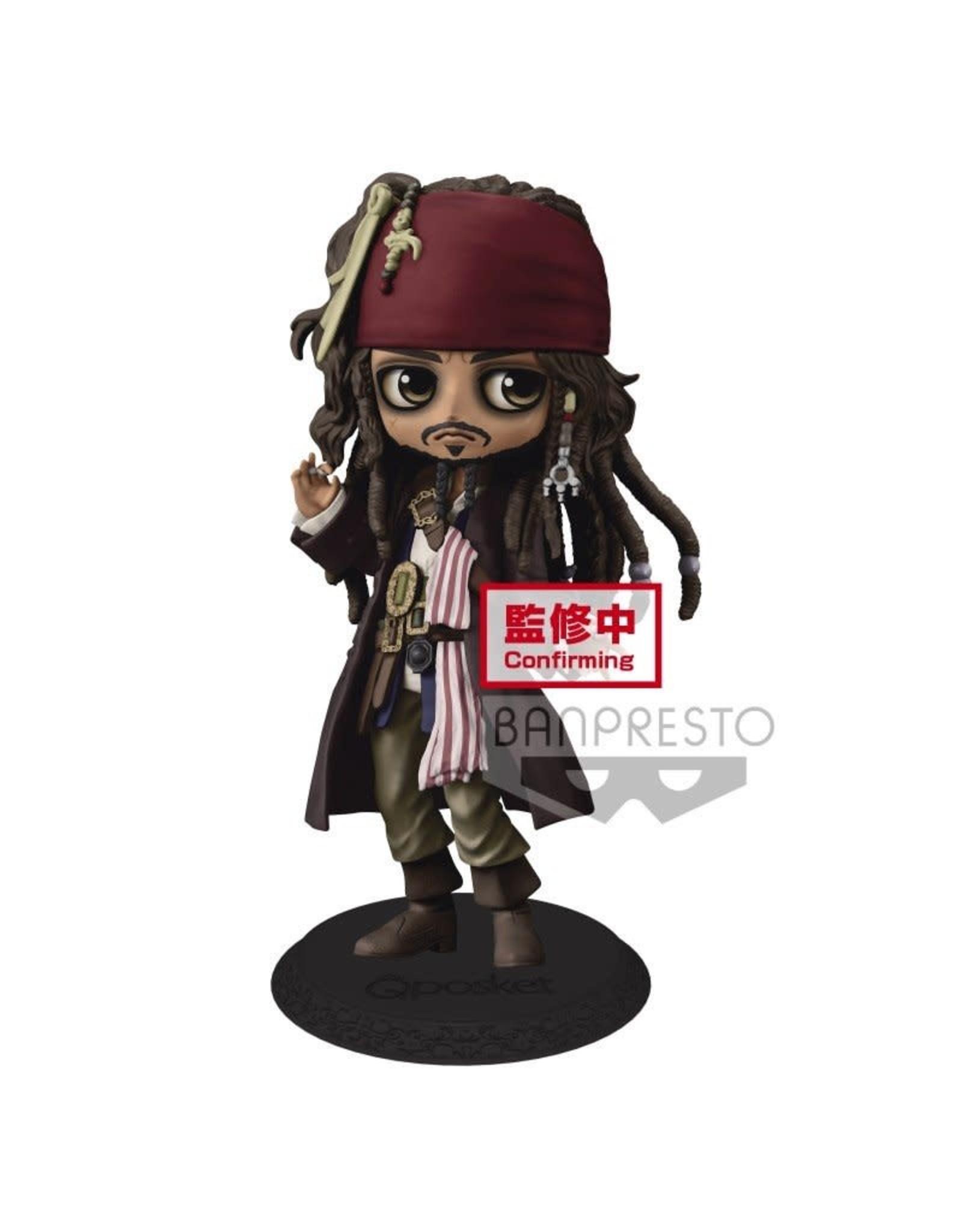 Banpresto DISNEY Q Posket Figure 14cm -Jack Sparrow