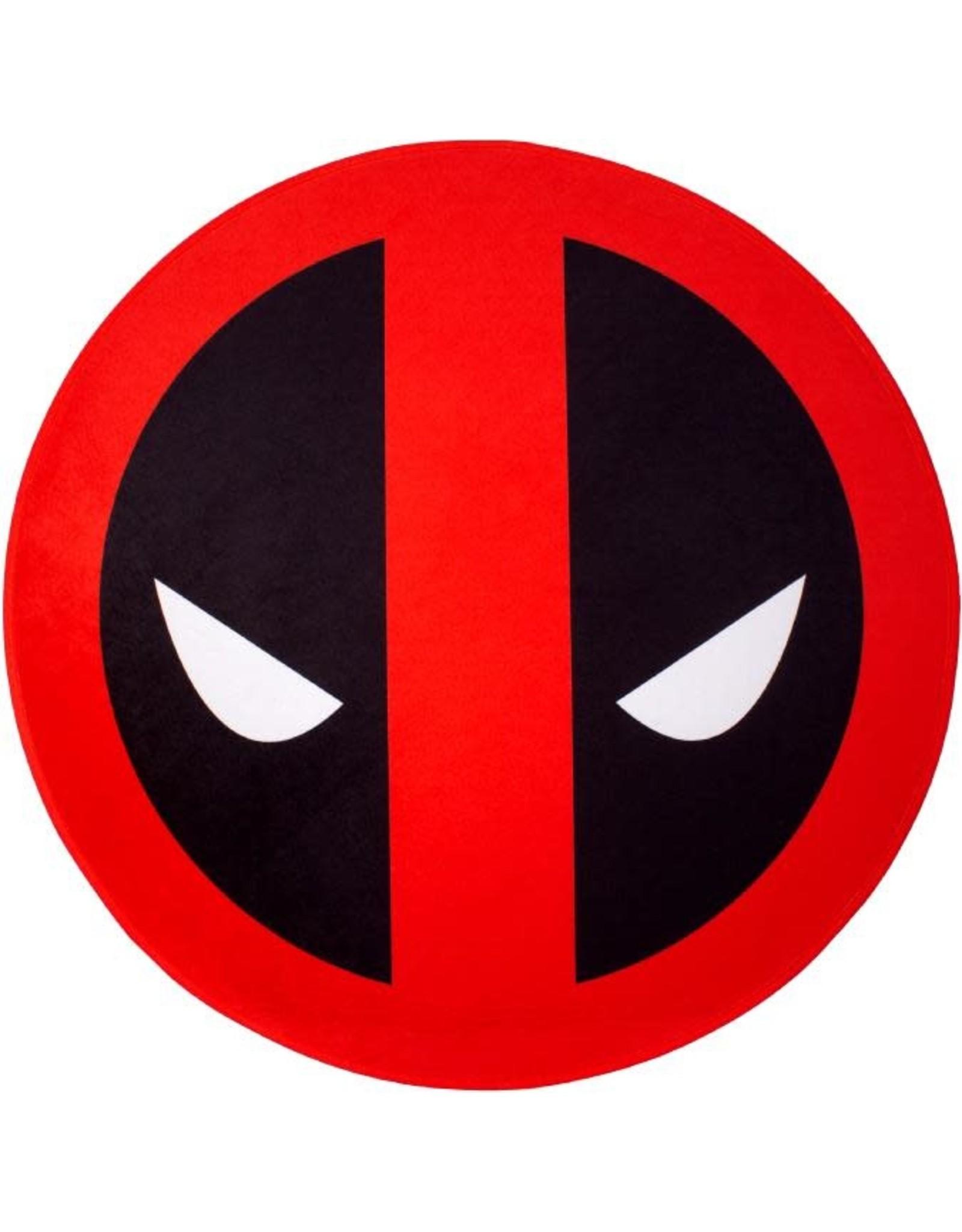 DEADPOOL - Microfiber mat - 80cm diameter - Deadpool Face