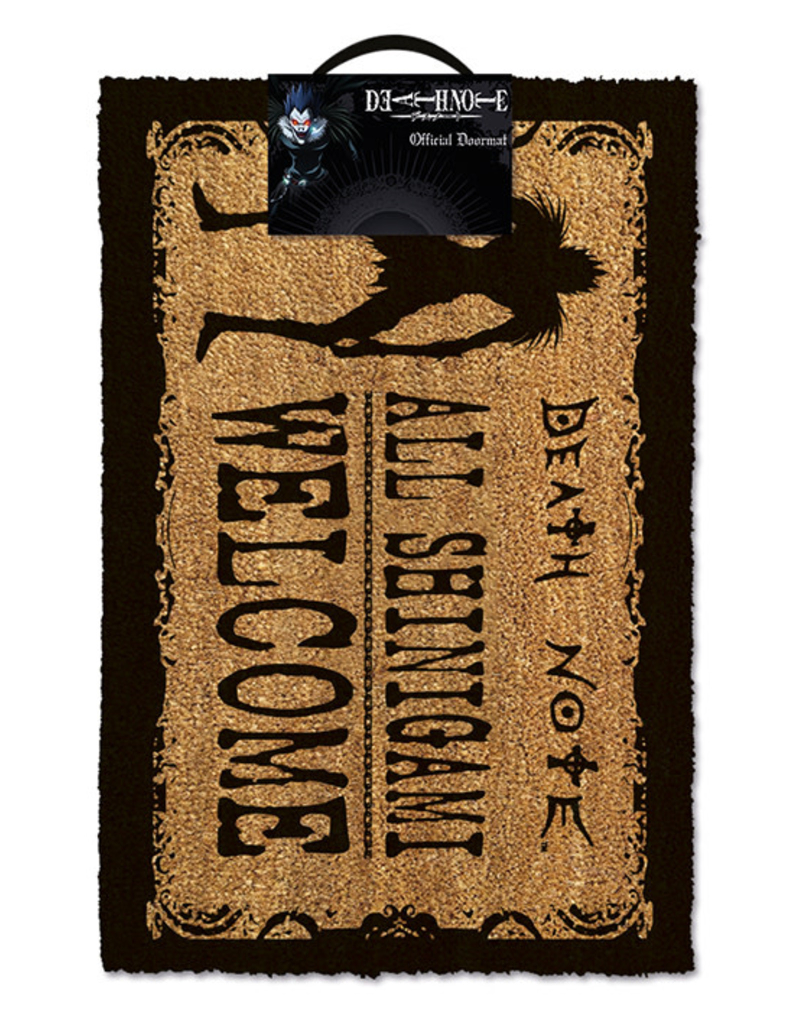 DEATH NOTE Doormat 40x60 - Shinigami Welcome
