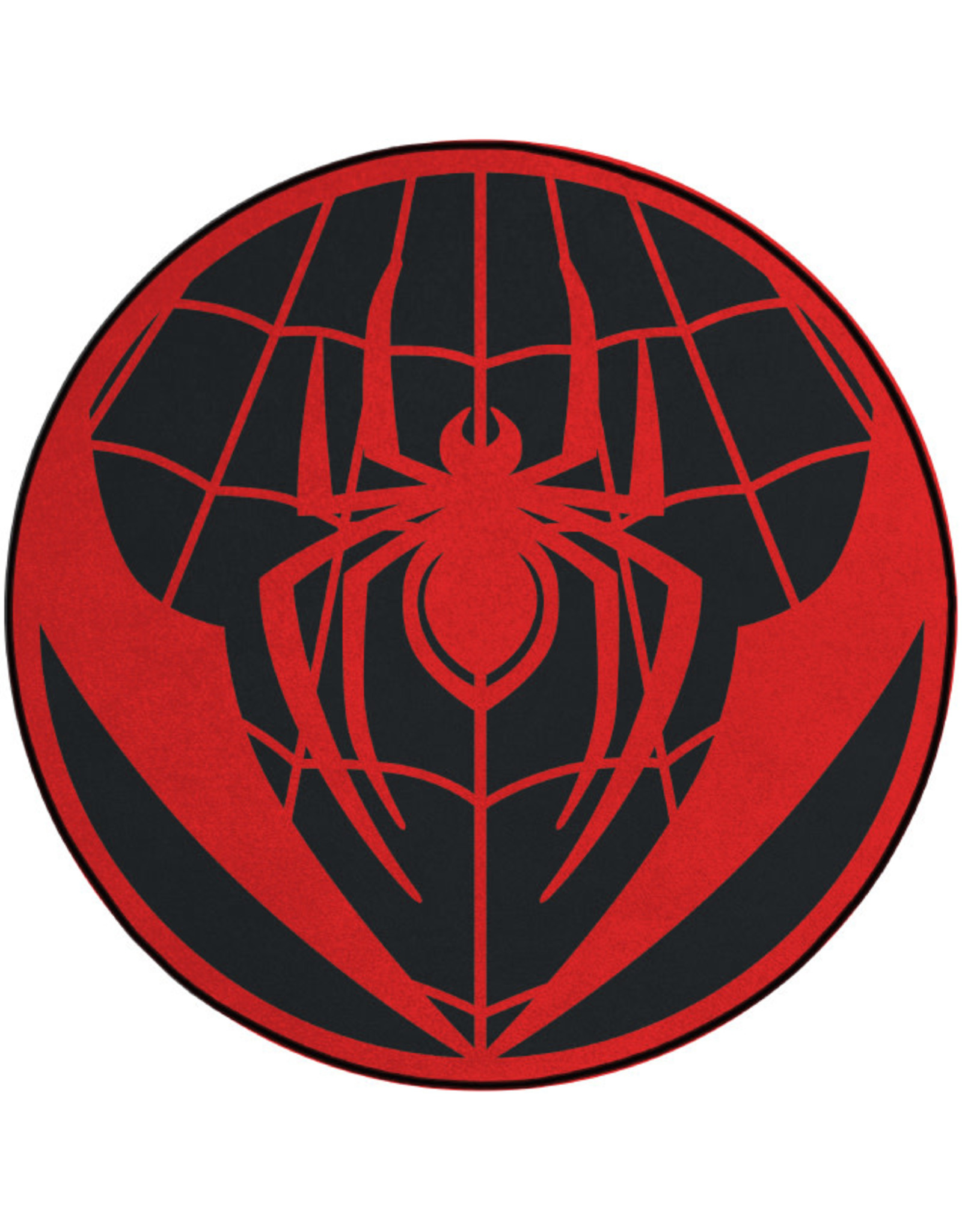 SPIDER MAN - Microfiber mat - 80cm diameter - Red Spider