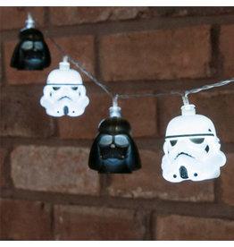STAR WARS - 3D Darth Vader & Stormtrooper String Lights - 2,5m