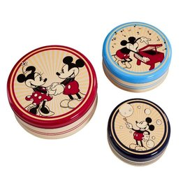 Funko MICKEY MOUSE Kitchen Storage 3 Piece Set - Retro