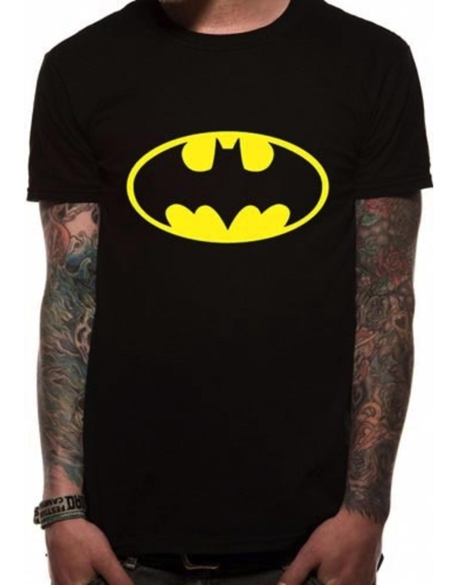 BATMAN T-Shirt IN A TUBE- Logo (XL)