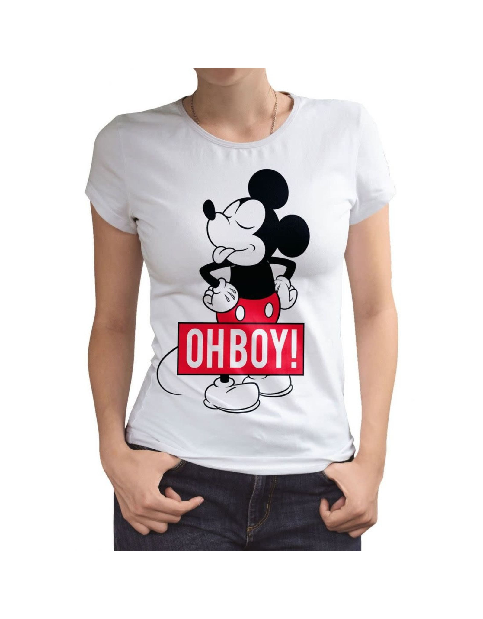 DISNEY - T-Shirt Mickey Oh Boy (L)