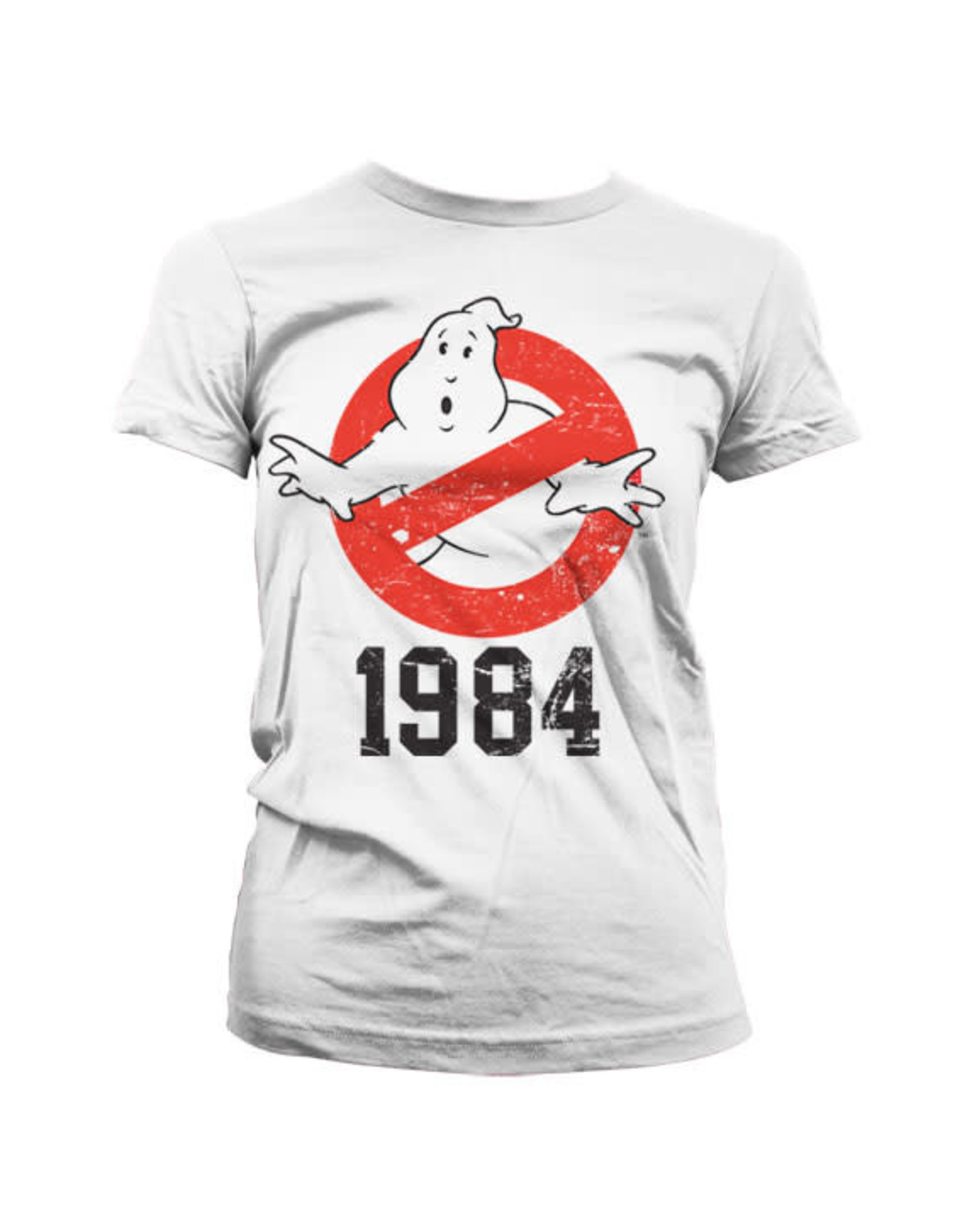 GHOSTBUSTERS - T-Shirt 1984 GIRLY - White (L)
