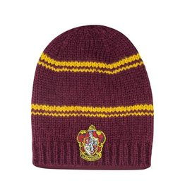 Cinereplicas HARRY POTTER Long Slouchy Beanie Gryffindor - Purple and Gold