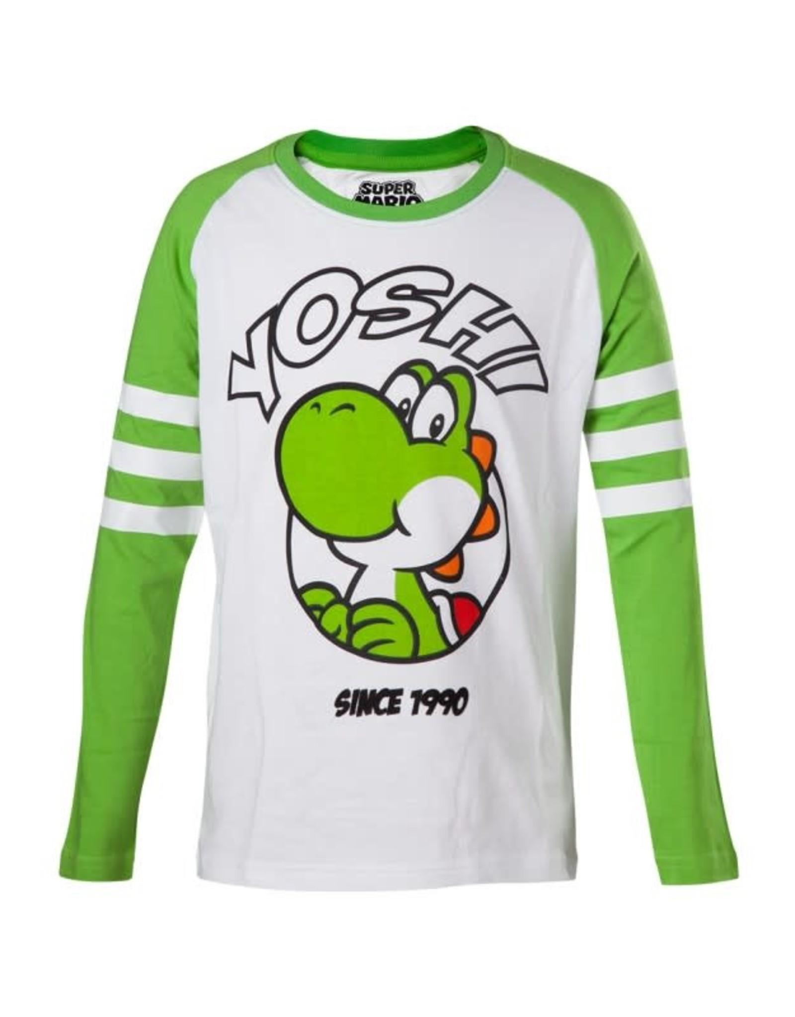 NINTENDO - T-Shirt Yoshi Longsleeve KIDS (98/104)