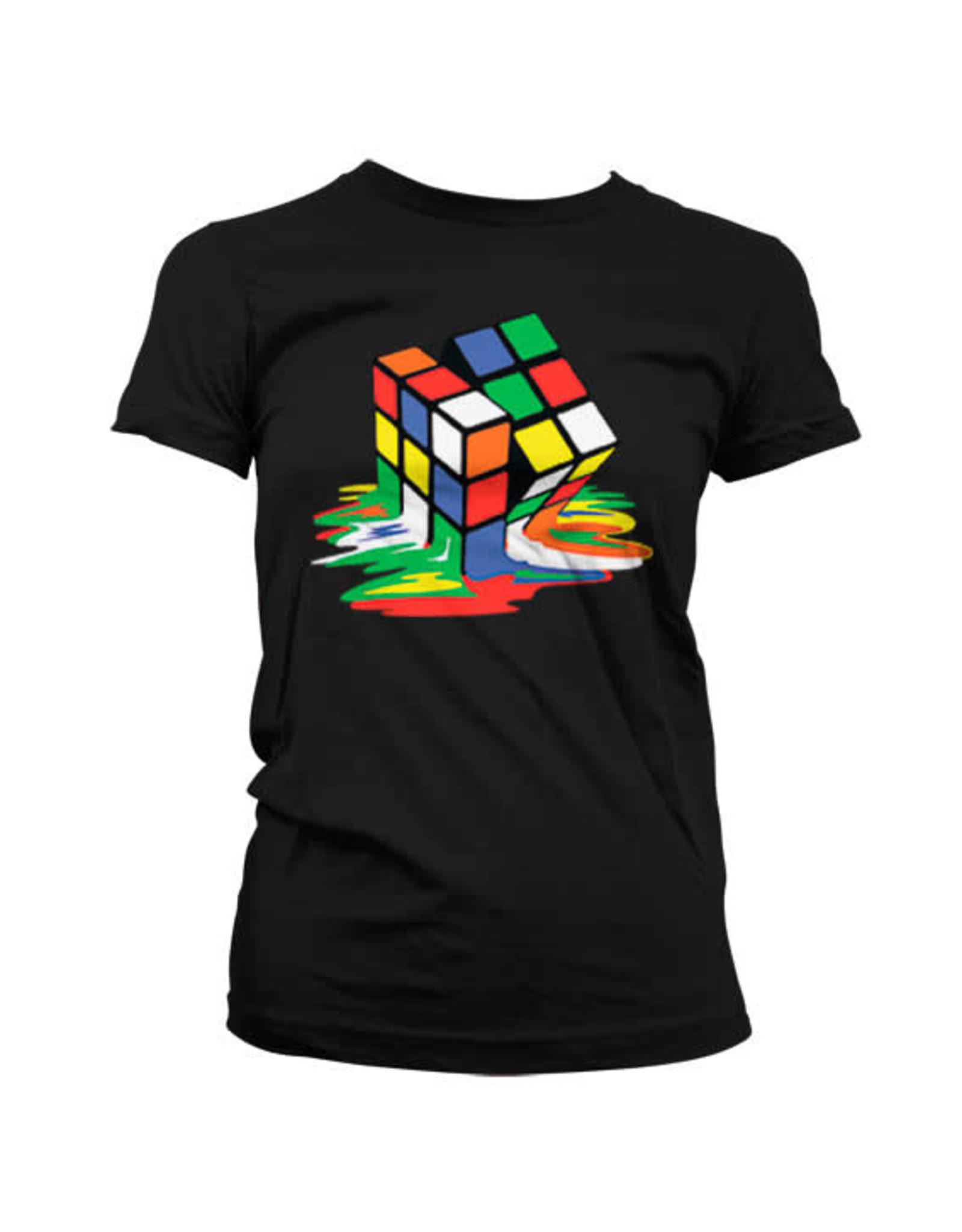 RUBIK'S - T-Shirt Melting Rubik's - GIRL (M)