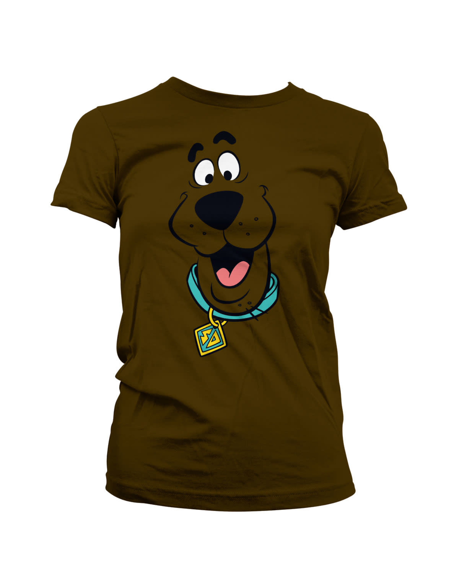 SCOOBY-DOO - T-Shirt Scooby Doo Face - GIRL (S)