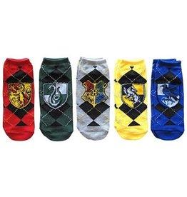 Bioworld HARRY POTTER Ankle Socks 5 pairs (34-41) - Hogwarts Houses
