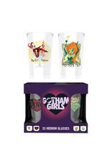 DC COMICS - Twin Medium Glasses 275ml - Gotham Girlds
