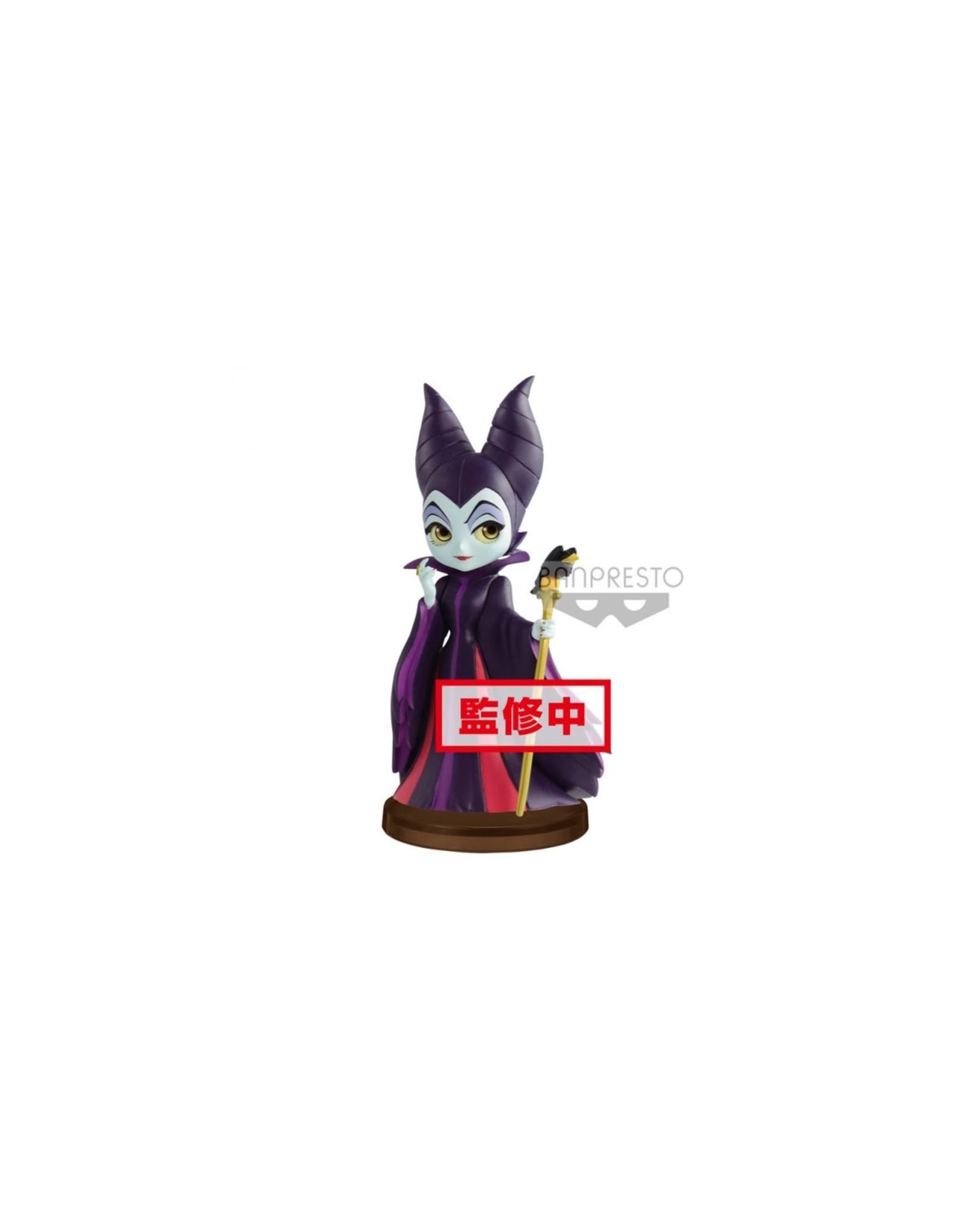 DISNEY - Q Posket Mini Girls Villains - Maleficent - 7cm