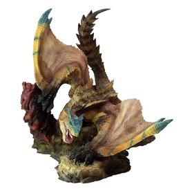 Capcom MONSTER HUNTER PVC Statue CFB Creators Model Tigrex Resell Version 20 cm