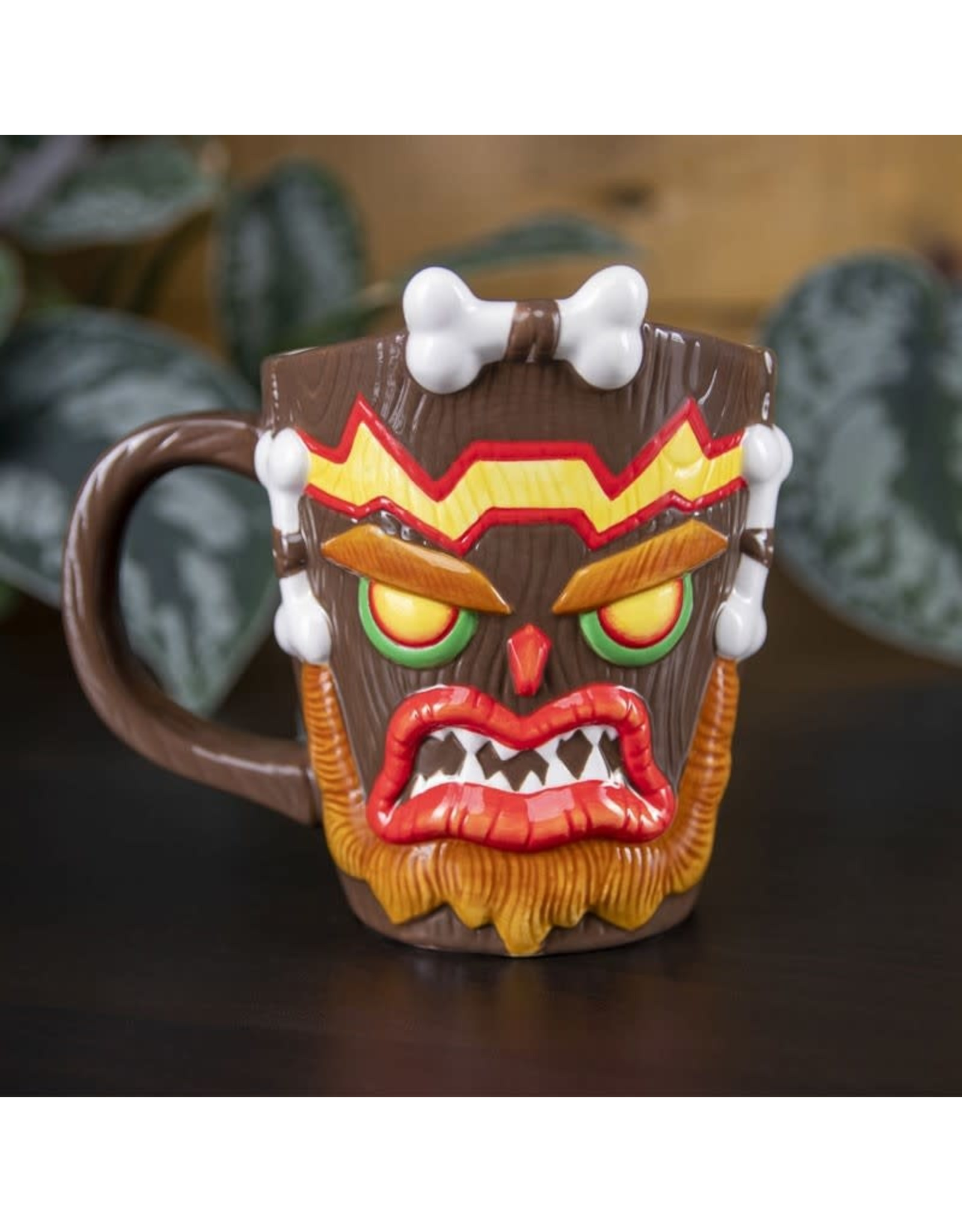 CRASH BANDICOOT 3D Mug- Uka Uka