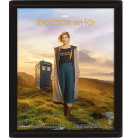 DOCTOR WHO 3D Lenticular Poster 26x20 - 13th Doctor