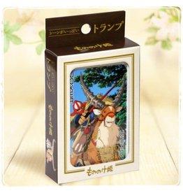Benelic GHIBLI Playing Cards (54 cards) - Princess Mononoke