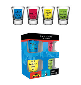 FRIENDS Shot Glass - Quotes