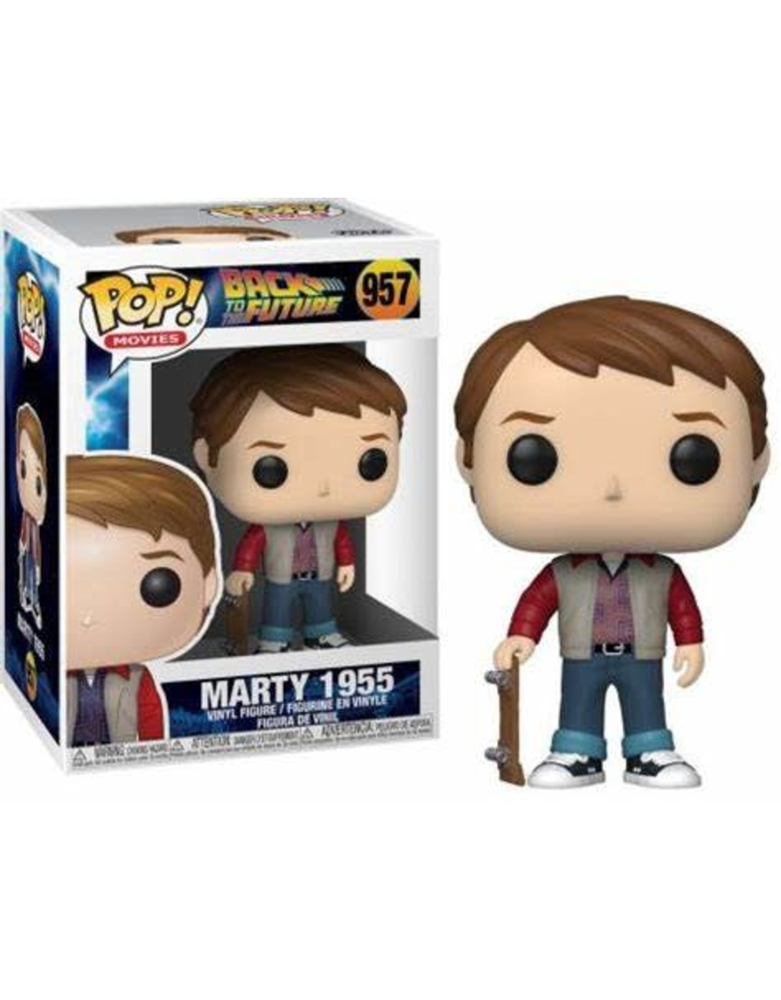 Funko BACK TO THE FUTURE POP! N° 957 - Marty 1955